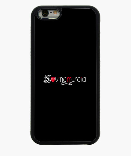 Funda iPhone 6 Funda LovingMurcia iPhone 6, negra
