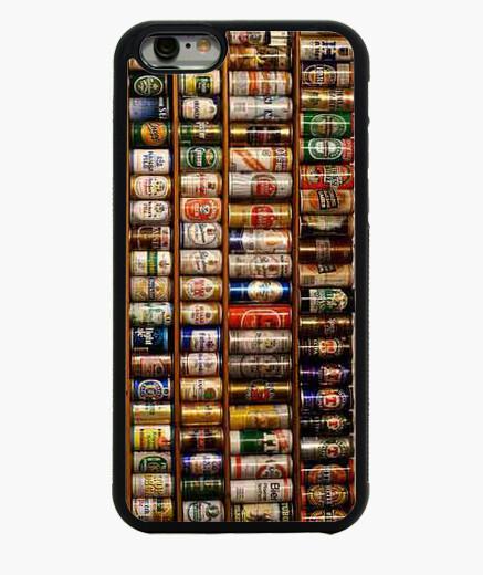 Funda iPhone 6 / 6S 6. Latas Cerveza