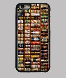 Funda iPhone 6. Latas Cerveza