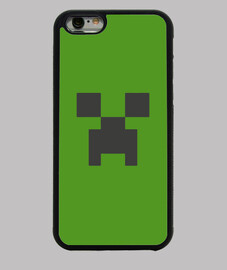 Funda iPhone 6 minecraft creeper