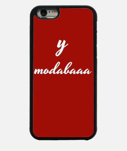 Funda iPhone 6 roja