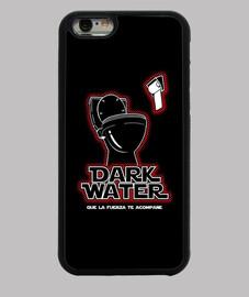 Funda iPhone 6, negra. Darth Vader