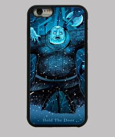 Funda iPhone 6, negra Hodor