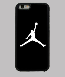 Funda iPhone 6, negra Jordan