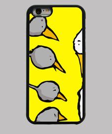 Funda iPhone 6, negra/Elpatitofeo