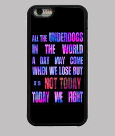 Funda iPhone 6 Not Today BTS, KPop