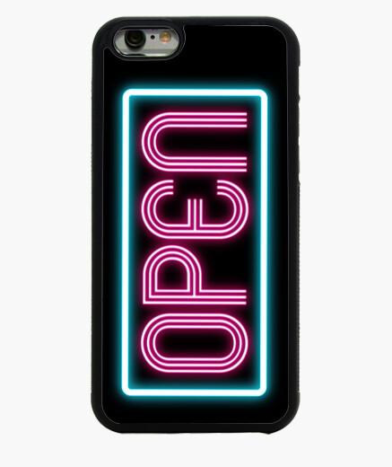 Funda iPhone 6 / 6S 6 OPEN neon
