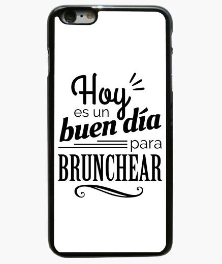 Funda iPhone 6 Plus / 6S Plus Hoy es un buen día para brunchear B/N 6 Plus
