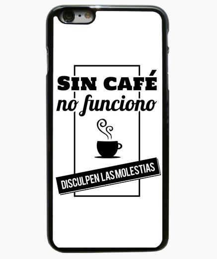 Funda iPhone 6 Plus / 6S Plus Sin café no...