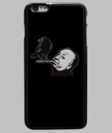 Funda iPhone 6 Plus Alfred Hitchcock