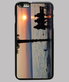 Funda iPhone 6 Plus, Amigas en el lago