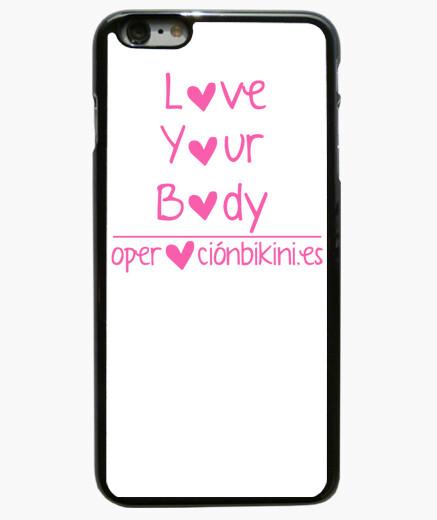 Funda iPhone 6 Plus / 6S Plus 6 PLUS Love Your Body