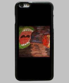Funda iPhone 6 Plus, Naturaleza canibal
