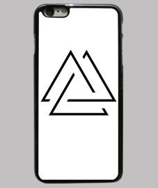 Funda iphone 6 Plus. Triangulo abierto