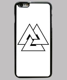 Funda iphone 6 Plus. Triangulo sinfin