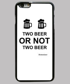 Funda iPhone 6 PLUS. Two beer or not two beer