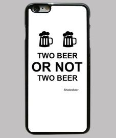 Funda iPhone 6 PLUS. Two beer or not two beer