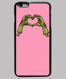 Funda iPhone 6 Plus Zombie Love