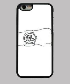 Funda iPhone 6, reloj, momera