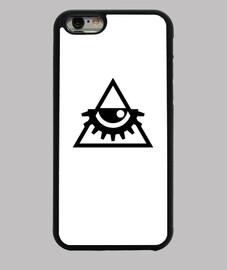 Funda iPhone 6 triangulo Illuminati Delarge