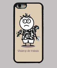 Funda iPhone 6, Viajer@ de trabajo