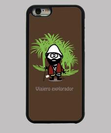 Funda iPhone 6, viajero explorador