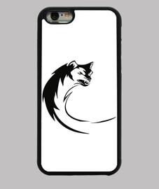 Funda iPhone 6, Wolf Art