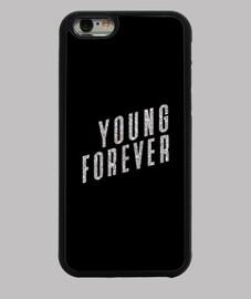 c6969552016 Funda iPhone 6 Young Forever BTS Purpurina, KPop