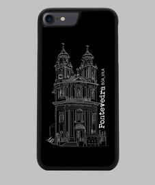 Funda iPhone 7-8. Pontevedra.Peregrina