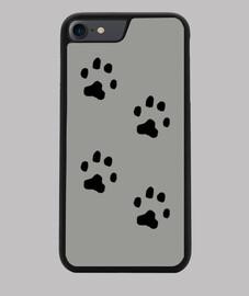Funda iPhone 7/8 huellas de gato
