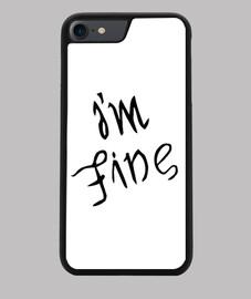 Funda iPhone 7/8, negra