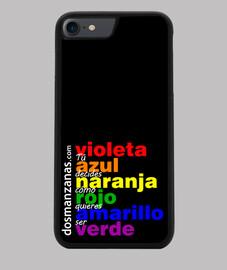 Funda iPhone 7/8, negra Orgullo 2019