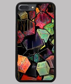 Funda iPhone 7/8 PLUS, negra  ByAI CUSTOM