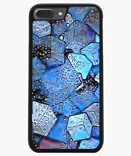 Funda iPhone 7 Plus / 8 Plus 7/8 PLUS, negra ByAI BLOCK FRESH
