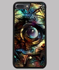 Funda iPhone 7/8 PLUS, negra ByAI Henna