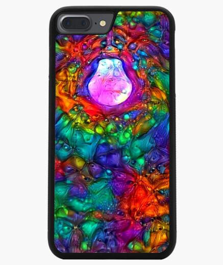 Funda iPhone 7 Plus / 8 Plus 7/8 PLUS, negra ByAI MIRROR