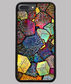 Funda iPhone 7/8 PLUS, negra ByAI MULTI BLOCK