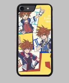 Funda iPhone 7/8 Sora enumera Kingdom Hearts