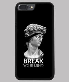 Funda iPhone 7 - 8 PLUS, negra