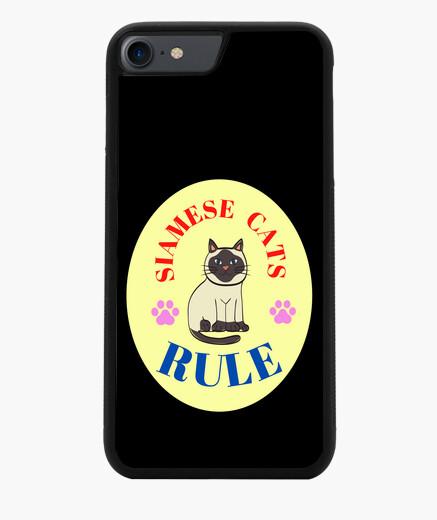 Funda iPhone 7 / 8 Siamese cats rule