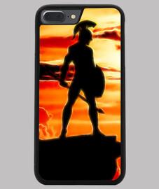 Funda iPhone 7 y 8 PLUS, Espartano