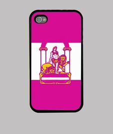 Funda iPhone Andalucía (Pink(Girl)
