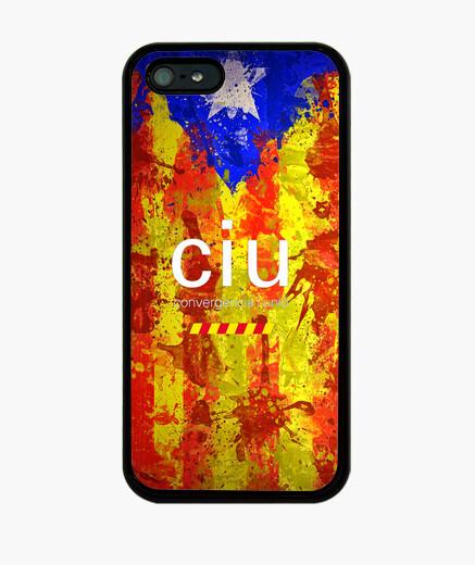 Funda iPhone Bandera independencia ciu 5-5S