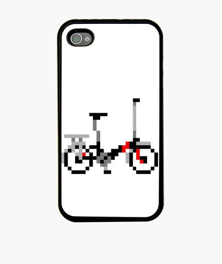 Funda iPhone bici pixel art