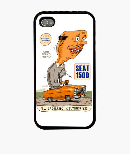 Funda iPhone cadillac celtiberico