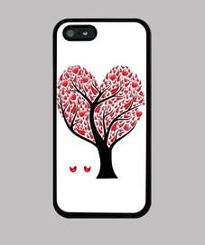 Funda Iphone Cuore Tree
