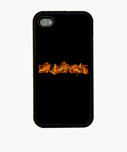 Funda iPhone Dracarys fuego