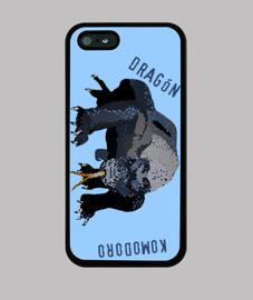 Funda Iphone Dragón komodoro2