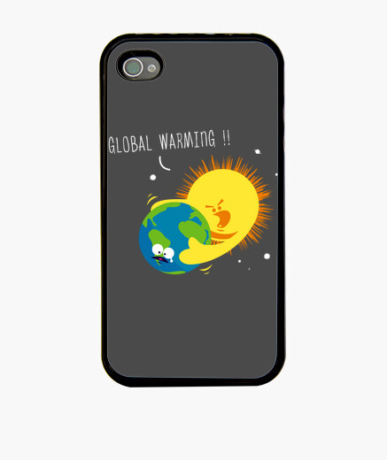 Funda iPhone El calentamiento global - iphone
