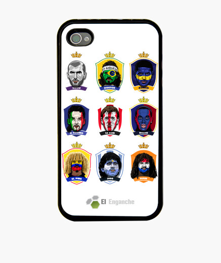 Funda iPhone El Enganche Fútbol